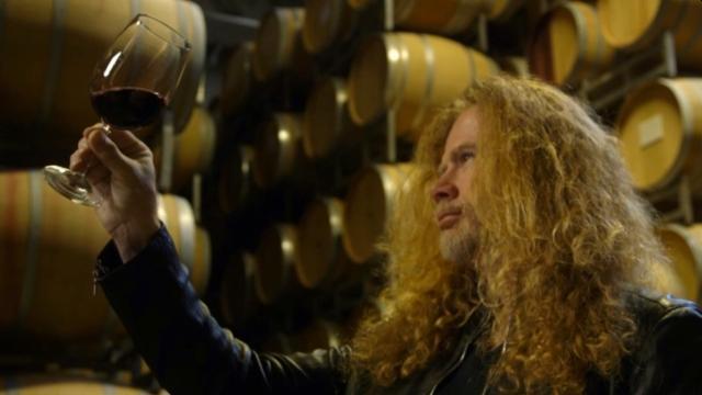 Dave Mustain a jeho megavíno