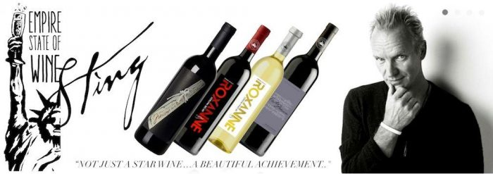 Sting je vinár