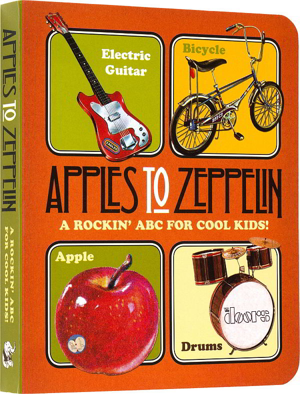 Abecedové leporelo Apples to Zeppelin