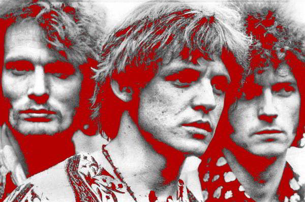 Cream - Ginger Baker, Jack Bruce a Eric Clapton