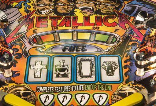 Metallica hrací automat