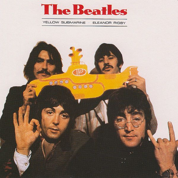 Beatles na obálke Yellow Submarine ukazujú 666 aj diablove rohy