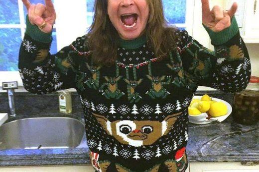 Ozzy v najhoršom vianočnom svetri, aký existuje