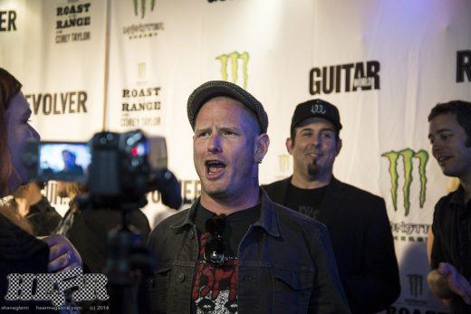 Corey Taylor takmer spieval v Anthraxe