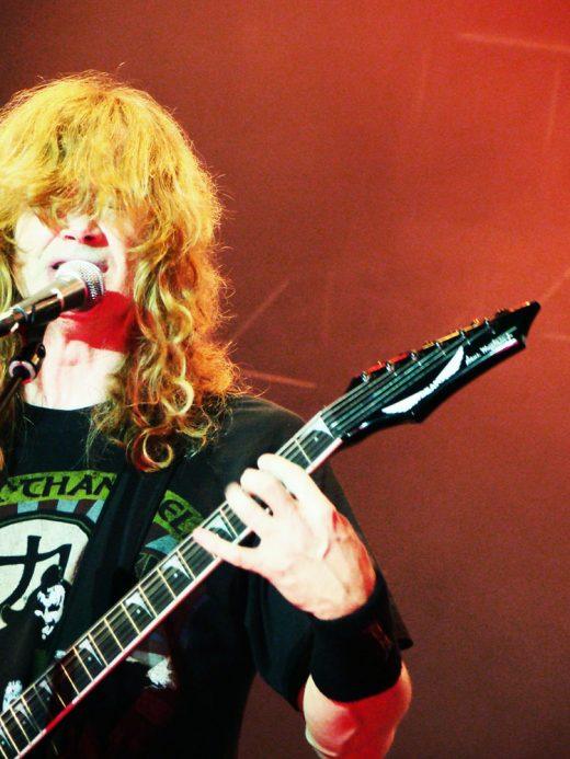 Megadeth vyrazil zakladajúceho člena Davida Ellefsona
